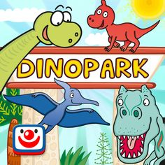 Zábavné aplikace pro iPad, iPhone, Android a web - Můj DinoPark Red Riding Hood, Fun Games, Kids And Parenting, Android, Animation, App, Comics, Children, Cool Games
