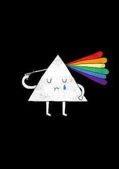 Kind of a depressing prism.