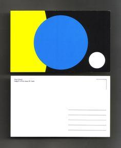 Johan Øvergård, Conduits (Flag of Earth Postcards) Photocopies on cast coat paper, 14,5 x 9 x 0,1 cm. © James W.Cadle, 1970. 2011 - ongoing