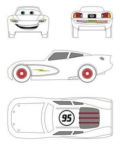 Free Printable Lightning Mcqueen Coloring Pages For Kids Print Pinterest