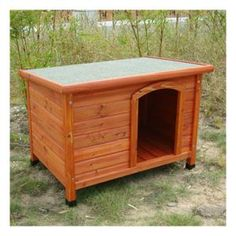 Large Enclosed Dog House