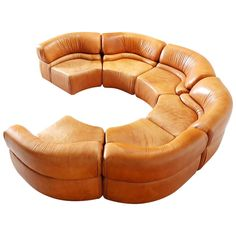 De Sede Extremely Rare Sectional Sofa 'Cosmos,' Switzerland, 1970s | From a unique collection of antique and modern sectional sofas at https://www.1stdibs.com/furniture/seating/sectional-sofas/