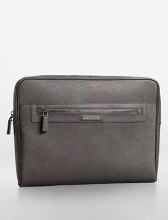 94786223d40e gavin leather portfolio - mobile + tech cases- Calvin Klein Leather  Portfolio