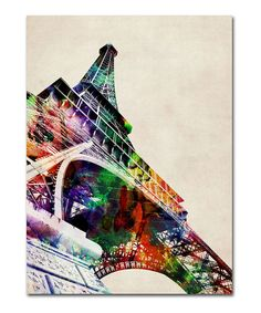 Eiffel Tower Gallery-Wrapped Canvas