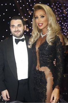 IN PICTURES – #MAYADIAB IN A SEXY AND DARING BLACK DRESS DURING LE #VOYAGEUR DINNER #Arab #Music #Entertainment #News #StarAcademy #MakeUpForever #ListenArabic