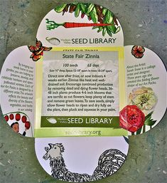 seed packaging art - Google Search