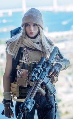 10 Interesting Facts About Women in Army Women With Weapons - Hot Military Girls - Girls With Guns Photo. Facts That Show How Far Women Have Come In The Military Hot Girls, Tumbrl Girls, Women Poster, Military Girl, Female Soldier, Warrior Girl, Military Women, Guns, Lady