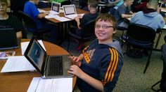 Douglas students test new devices using online resources #SDSLCornerstone