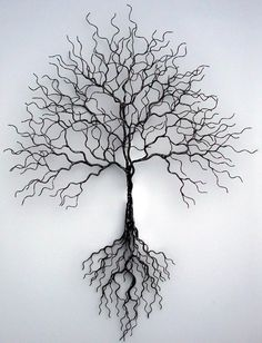 Original Metal Tree Sculpture 1269e499b