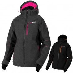 FXR Racing S18 Diamond Dual Laminate Insulated Womens Coats Softshell Jackets