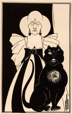 """Illustrations by Aubrey Beardsley, made to accompanyEdgar Allan Poe's short stories. Beardsley, born on August 21, 1872, favored the grotesque and the erotic in his drawings and had a large influence on the developing the Art Nouveau style, though he lived only to twenty-five. He also illustrated work by Oscar Wilde and Alexander Pope and... <a href=""""http://www.theparisreview.org/blog/2015/08/21/beardsleys-poe/"""">Read More</a> <span class=""""link"""">»</span>"""