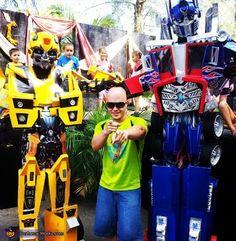 Transformers - 2012 Halloween Costume Contest