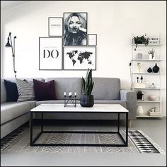 67 inspirational modern living room decor ideas for small apartment you will like it 11 Small Living Room Ideas Apartment Decor Ideas inspirational Living Modern Room Small Living Room Grey, Living Room Modern, Home Living Room, Interior Design Living Room, Modern Wall, Modern Decor, Living Room Ideas Black And White, Living Room Decor Ideas Grey, Kitchen Living