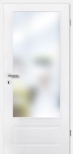 Prüm Classic CKL1 Weisslack exklusiv Lichtausschnitt Türelement Türelement bestehend aus Türblatt und Zarge Bitte beachten Sie, dass der Sprossenrahmen und die Verglasung lose beigelegt sind. Falls Sie den Sprossenrahmen und...