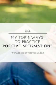 Living your best today by discovering 5 Way To Practice Positive Affirmations. Mental Health Help, Mental Health Quotes, Health Facts, Happy Mind Happy Life, Happy Minds, Morning Affirmations, Positive Affirmations, Self Development, Personal Development