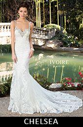 Beautiful Kitty Chen Ivoire Chelsea at Dori Anne Veils Bridal Salon