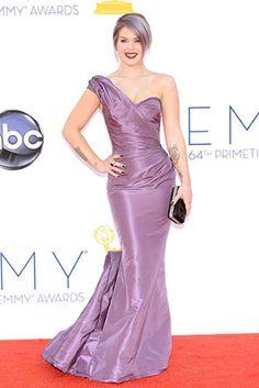 Kelly Osbourne in Zac Posen at the 2012 Emmy Awards