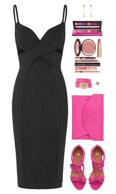 """Sin título #4138"" by mdmsb on Polyvore featuring moda, Givenchy, Balenciaga, Palm Beach Jewelry, Charlotte Tilbury y Bellápierre Cosmetics"