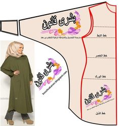 12 Sewing Patterns Tips What About Amazing Easy Sewing Projects ? Dress Sewing Patterns, Sewing Patterns Free, Clothing Patterns, Sewing Hacks, Sewing Tutorials, Sewing Projects, Motif Abaya, Fashion Sewing, Diy Fashion