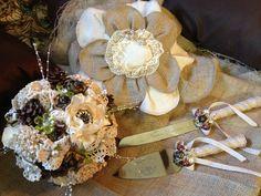 My hand made wedding bouquet