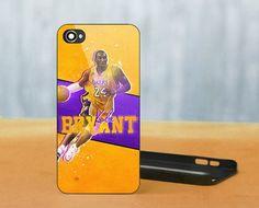 Kobe Bryant LA Lakers NBA, iPhone 5 Black Case Cover