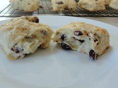 Cranberry-Vanilla Sourdough Scones (for Sourdough Surprises)