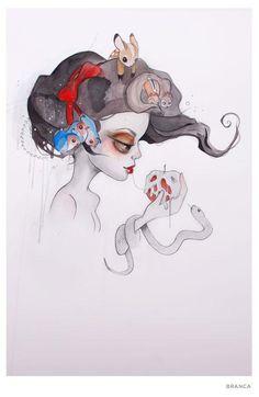 indiesart.com - Tatiana Suarez               Snow White redux