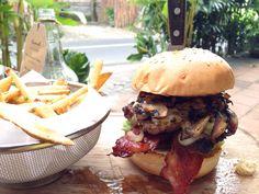 Mushroom burger @ Habitual Umalas