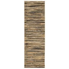 Rug Squared Mariposa Beige Runner Rug (2'2 x 7'3)