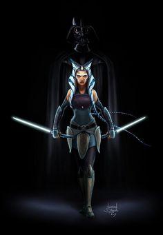 Ahsoka & Vader - Jordan Delgadillo