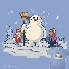 Do you want to build a Frosty? #disney #film #frostythesnowman #frozen #karenhallion #khallion #movie #snowman #tvshow