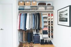 it's time to reorganize your closet