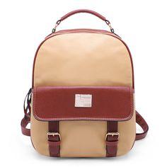 Women/Girl Leather School Backpacks