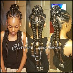 "1,367 Likes, 93 Comments - Cornrows/Boxbraids Heaven (@lovehard_grindharder) on Instagram: ""INFO IN MY BIO FOR APPTS #GlamourBraids  last 2 to 3 weeks #painless No Heat #beautiful…"""