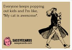 Cats over Kids -