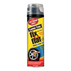 Fix-A-Flat Large Tire Aerosol Sealant Kit