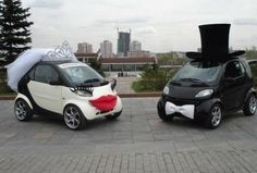 couple of weird wedding cars found in a chinese country town ...