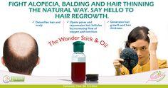 Fight #hair #loss the natural way..... say #hello to #hair #regrowth