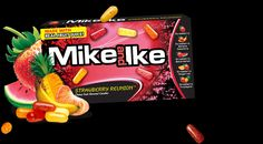 MIKE AND IKE STRAWBERRY REUNION THEATRE BOX