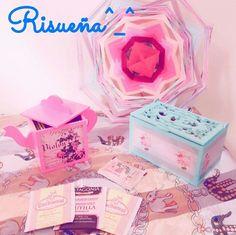 Hermosas cajitas de te pink.. Encontra esto y mas novedades en nuestra página de facebook Risueña y  sigenos en instagran Risue_na