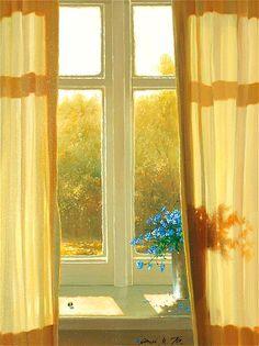 window art by Michael Gorban