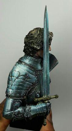 Warhammer Paint, Warhammer Fantasy, Fantasy Paintings, Mini Paintings, Fantasy Model, Fantasy Art, Fairy Drawings, Military Orders, Steel Paint