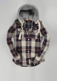 More plaid, I look the hoodie.  Getting this would mean I would still need plaid