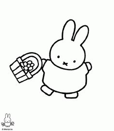 Miffy Coloring Pages   Printable Coloring Pages