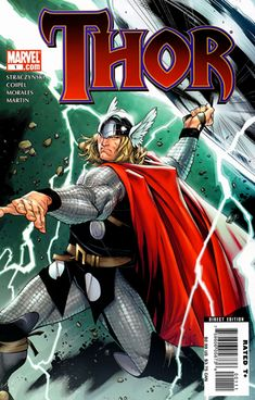 Cover of Thor 3-1 - Thor (Marvel Comics) - Wikipedia, the free encyclopedia