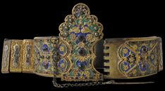 Enamelled Wedding Belt, Greece, 19th century
