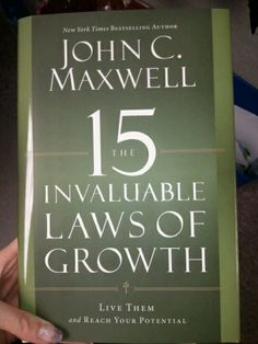John Maxwell- I learned so much from this book!  Learn to lead- we are all leaders!!!