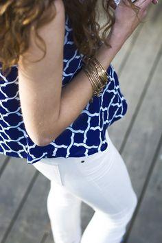 white pants. white denin. white jeans. spring outfit.