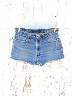 Jean Shorts, Denim Jeans, Vintage Levis, Size 00, Cut Off, High Waist Jeans, Jeans Size, Boho, Style