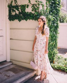 Sharing my favorite wedding guest dresses on galmeetsglam.com today including this gauzy floral maxi @denimandsupplyrl one from @macys…